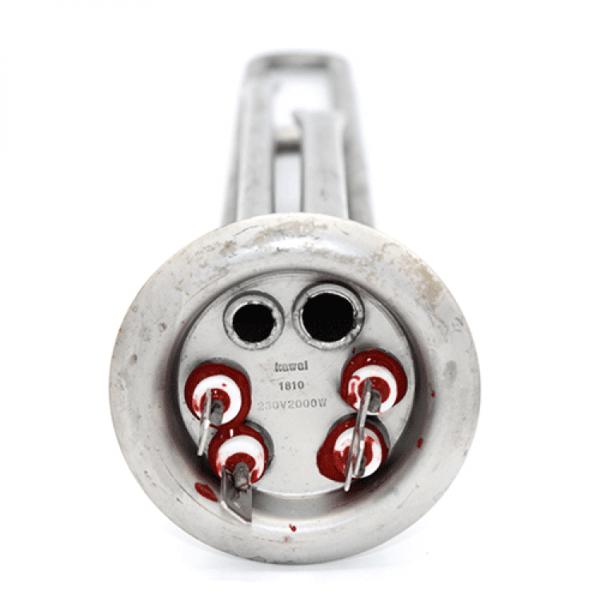Rezistenta electrica Ionx 2000w (flansa Ø 62) pentru boiler cu loc pentru anod