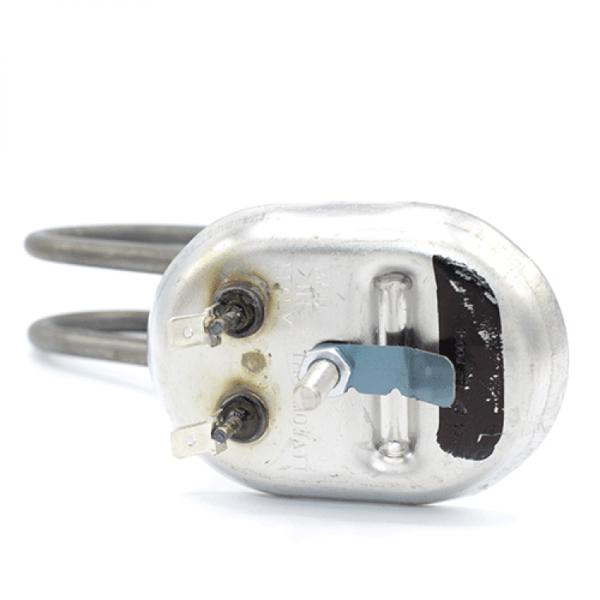 Rezistenta electrica Inox  1500w (flansa ovala) pentru boiler Ariston cu loc pentru anod