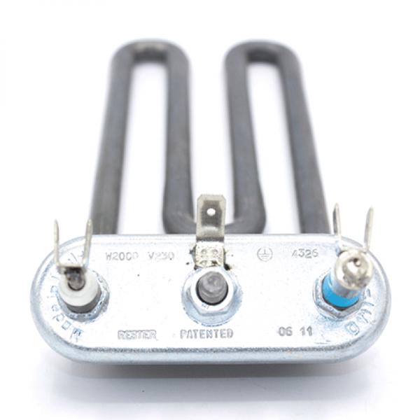 Rezistenta electrica Masina de spalat rufe 2000w/173mm indoit sub flansa Thermowatt