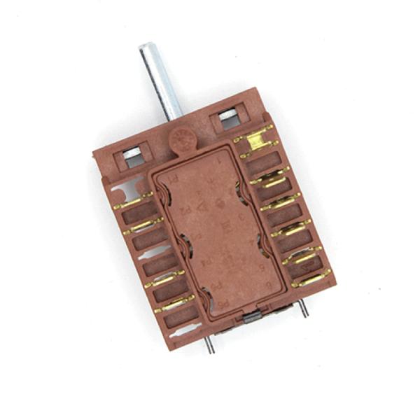 Comutator in 4 pozitii cu suport pentru termoregulator  AC 604A Argenson
