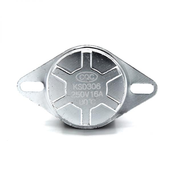 Termostat bimetalic 16A de tip siguranta 80°C KSD 306