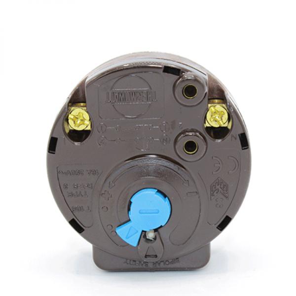 Termoregulator bimetalic 16A cu termosiguranta RTS Thermowatt