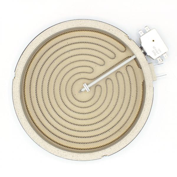 Rezistenta electrica ceramica pentru plita vitroceramica Kawai 2300w Ø230mm