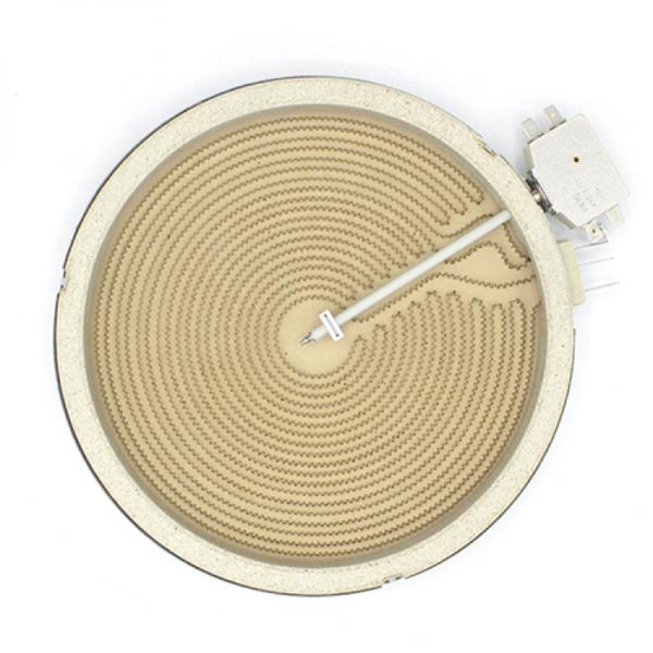 Rezistenta electrica ceramica pentru plita vitroceramica Kawai 2200w Ø230mm