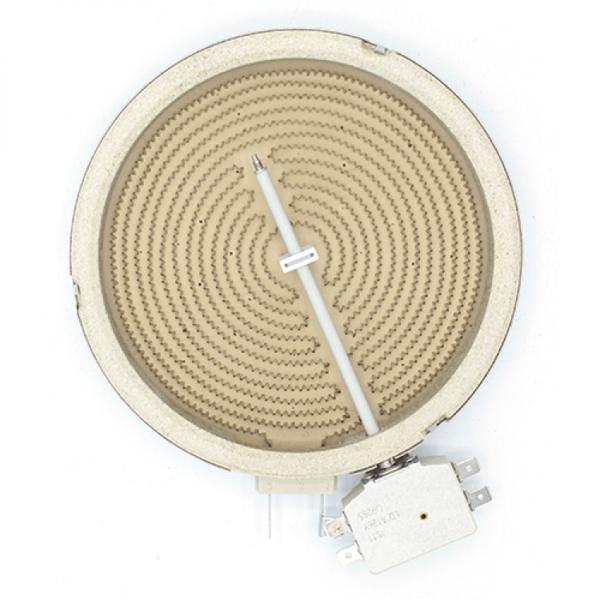 Rezistenta electrica ceramica pentru plita vitroceramica Kawai 1200w Ø165mm