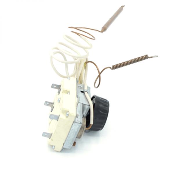 "Termoregulator cu sonda combinat cu termosiguranta ""cupru"" MMG 77°C/95°C 2P Lc"