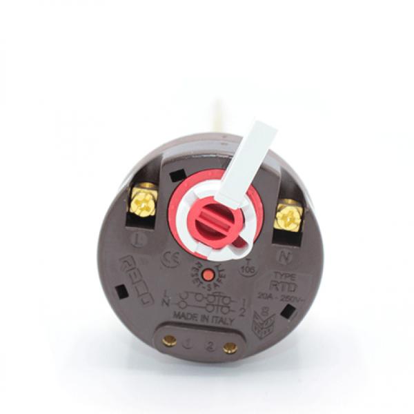 Termoregulator bimetalic 20A cu reglaj si termosiguranta Reco