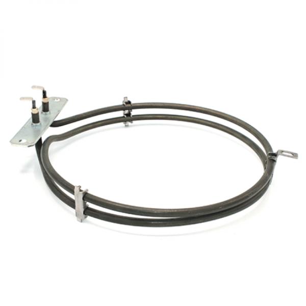 Rezistenta electrica pentru cuptor cu convectie Ø 180mm cu flansa de fixare L970mm